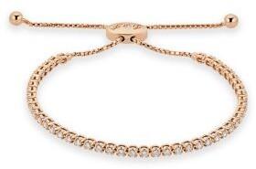 Saks Fifth Avenue Diamond and 14K Rose Gold Adjustable Bracelet