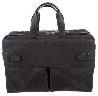 Dunhill Embossed PVC Briefcase