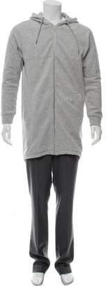 Alexander Wang Hooded Zip-Up Sweatshirt