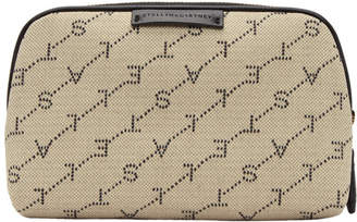 Stella McCartney Beige Monogram Eco Cosmetic Case