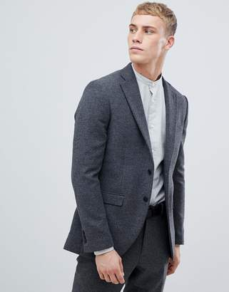 Jack and Jones blazer in slim fit with wool mix