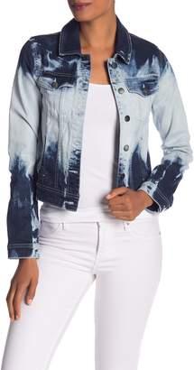 Rachel Roy Tie Dye Denim Jacket