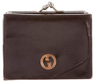 Gucci Vintage Leather Coin Purse