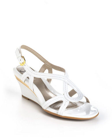 Sofft Paharita Leather Wedge Sandals