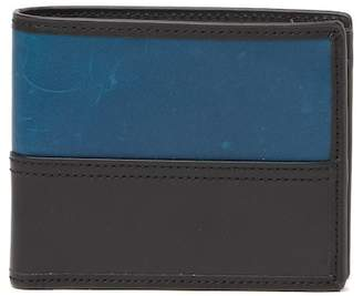 Fossil Tate Large Coin Pocket Leather Bifold Wallet