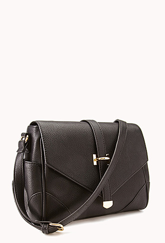 Forever 21 Standout Faux Leather Crossbody