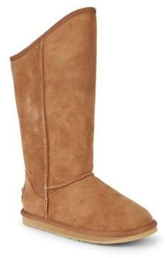 Australia Luxe Collective Cosy Shearling & Suede Tall Boots