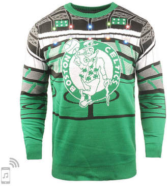 Forever Collectibles Men Boston Celtics Bluetooth Sweater