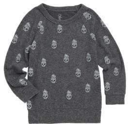 Lauren Moshi Little Boy's& Boy's Pineapple Skull Pullover