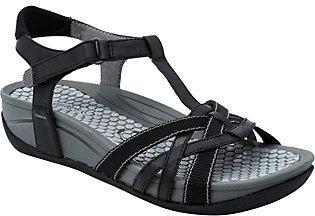 BareTraps Baretraps Strappy T-strap Sport Sandals - Delany $59 thestylecure.com