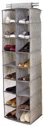 Laura Ashley Almeida 16-Compartment Hanging Shoe Organizer
