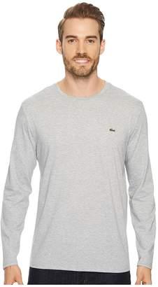 Lacoste Long Sleeve Pima Jersey Crew Neck T-Shirt Men's T Shirt