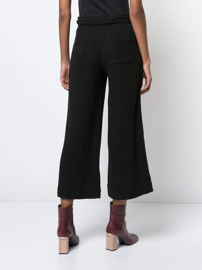 Raquel Allegra cropped wide-leg trousers
