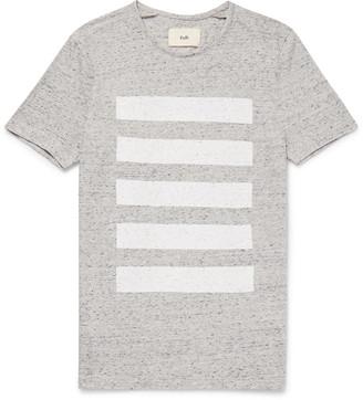 Striped Mélange Cotton-Jersey T-Shirt $85 thestylecure.com