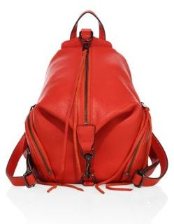 Rebecca Minkoff Medium Julian Leather Backpack $245 thestylecure.com