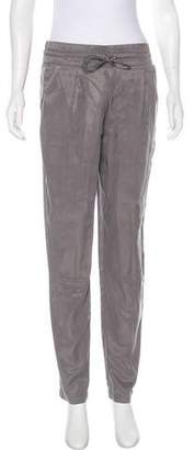Club Monaco High-Rise Straight-Leg Pants