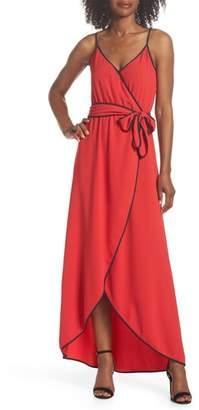 Felicity & Coco Becca Faux Wrap Maxi Dress