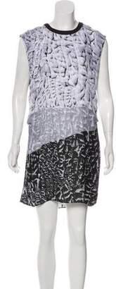 Helmut Lang Silk Printed Dress w/ Tags