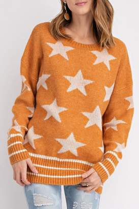 Easel Star Pullover Sweater