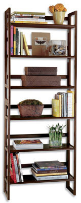 Java Stackable Folding Bookshelf