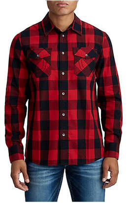 True Religion MENS CLASSIC BUTTON UP SHIRT
