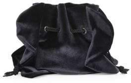 Chiara Boni Beyonce Velvet Drawstring Bag