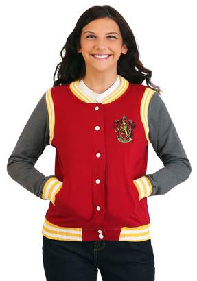 Bioworld Women' Harry Potter Gryffindor Varity Jacket
