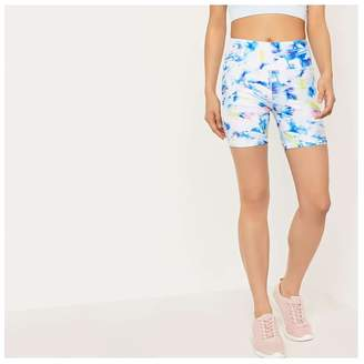 Joe Fresh Women's Print Shorts, White (Size S)