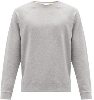 Handvaerk - Flex Raglan Sleeve Pima Cotton Sweatshirt - Mens - Grey
