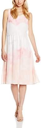 Betty Barclay Women's Pleated Sleeveless Dress - Multicoloured