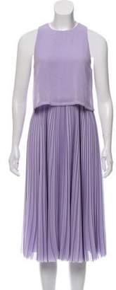 Jason Wu Pleated Skirt Sleeveless Dress w/ Tags Pleated Skirt Sleeveless Dress w/ Tags