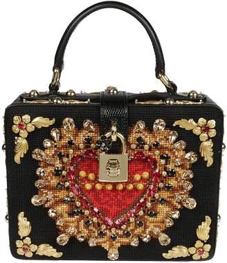 Dolce & Gabbana Embellished Box Shoulder Bag