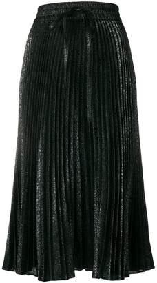 RED Valentino midi pleated skirt