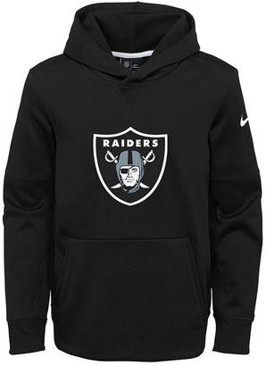 Nike Oakland Raiders Circuit Logo Hoodie, Big Boys (8-20)