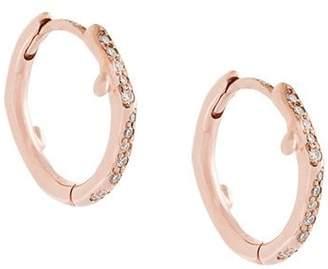 Shaun Leane Cherry Branch diamond hoop earrings
