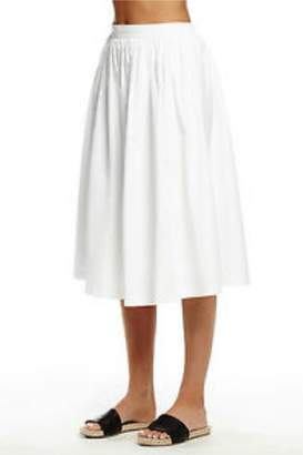 Michael Stars White Midi Skirt