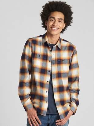 Gap Standard Fit Flannel Shirt