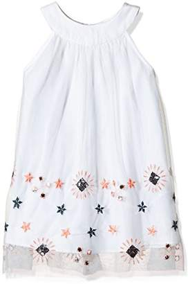 French Connection Girl's Embellished Mesh Dress