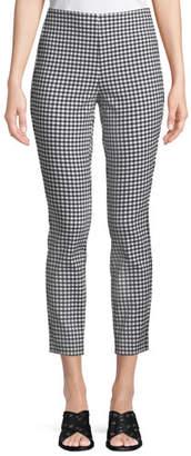 Rag & Bone Simone Cropped Gingham Pants