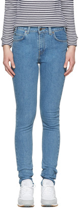 Levi's Blue 721 Jeans $100 thestylecure.com