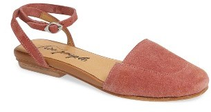 Women's Free People Korine Ankle Strap Flat $98 thestylecure.com