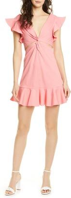 Rebecca Taylor Cutout Minidress