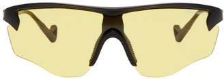 District Vision Black and Yellow Junya Racer Sunglasses