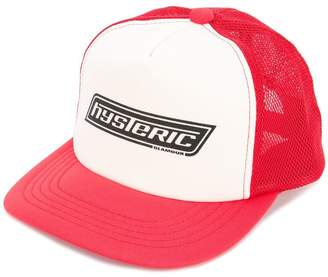 Hysteric Glamour logo patch colour-block cap
