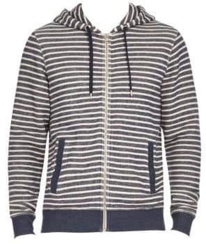 Orlebar Brown Mathers Stripe Hoodie
