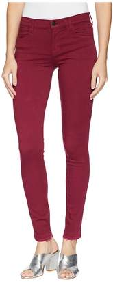 J Brand 620 Mid-Rise Super Skinny Jeans in Deep Plum Women's Jeans