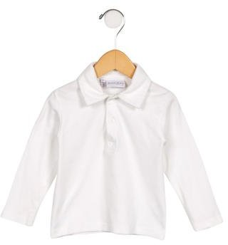 Rachel Riley Girls' Long Sleeve Polo Top $35 thestylecure.com
