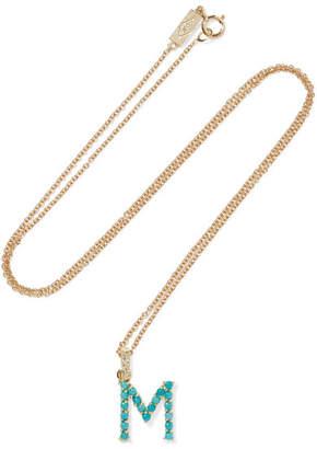 Jennifer Meyer 18-karat Gold, Turquoise And Diamond Necklace