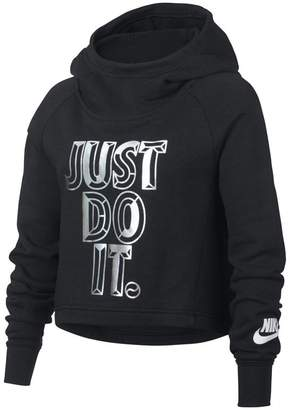 Nike Sportswear Older Kids'(Girls') JDI Cropped Hoodie