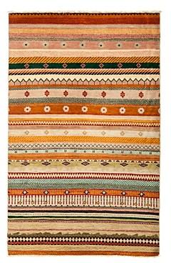 Tribal Oriental Area Rug, 4'1 x 6'6